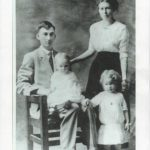 1915 - John Edward, Edna Mae, Viola Mildred (on lap), and Margaret L Beyl.