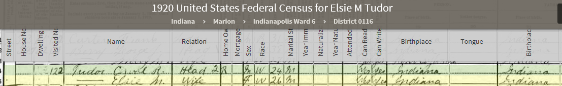 EMA 1920 US Federal Census