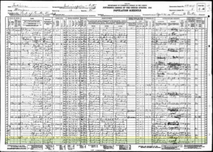 1930 United States Federal Census Record