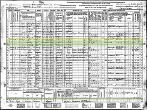 1940 United States Federal Census Record