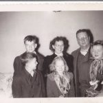 1953 - Charles & Mildred with kids