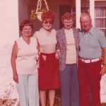 Early 70s - Mildred, Charles and Daughters