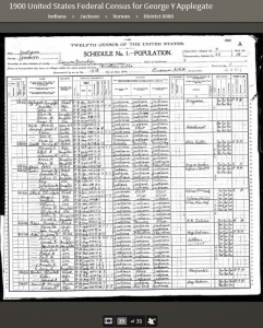 GTA 1900 United States Federal Census