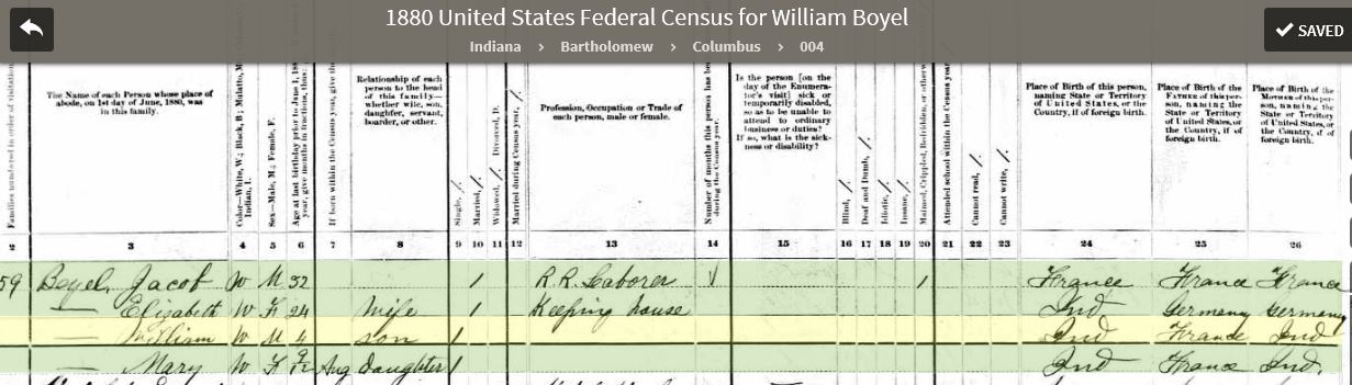 JWBJ 1880 United States Federal Census