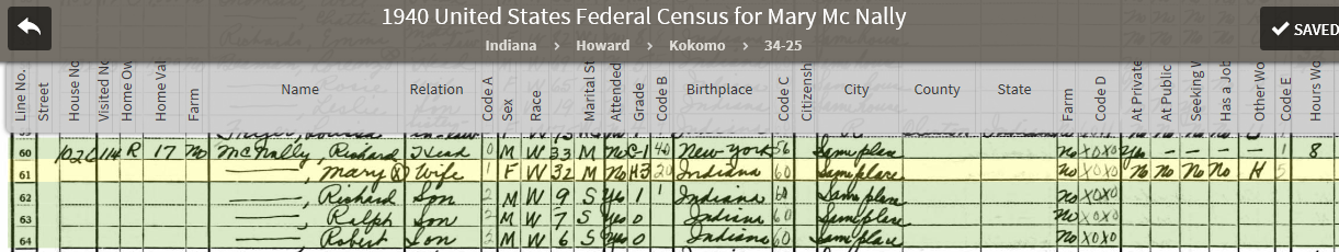MBB 1940 US Federal Census
