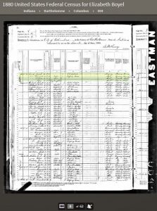 MEK 1880 United States Federal Census - 1