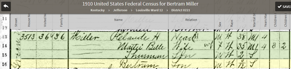CBM113 1910 US Federal Census