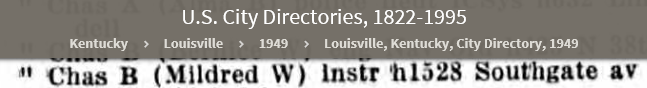 CBM113 1949 U.S. City Directories