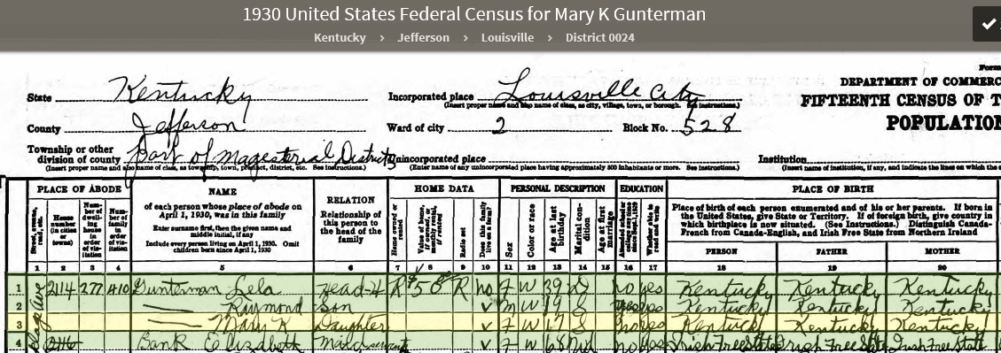 MKG09 1930 US Federal Census